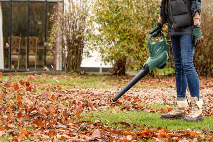 soffiatore aspiratore foglie