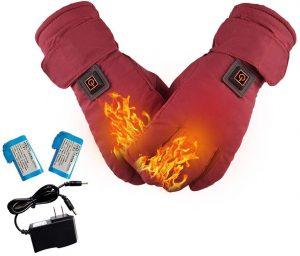 guanti moto sci riscaldati a batterie