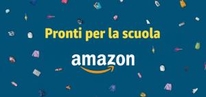 Amazon pronti per la scuola