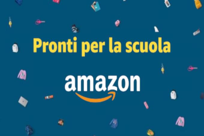 Amazon pronti per la scuola 2020