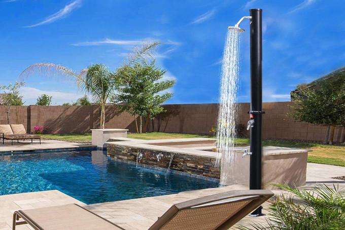 doccia giardino energia solare
