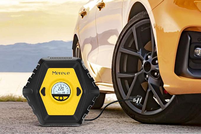 compressore per pneumatici